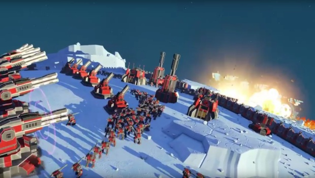 Planetary Annihilation Legion brings in a brand new faction