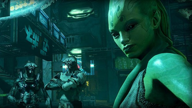 Screenshot from the canceled Prey 2 game
