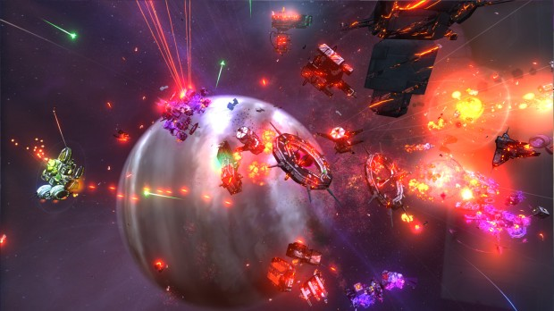 SPAZ 2 features some chaotic space battles