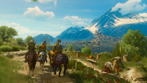 The Witcher 3: Blood and Wine Geralt on horseback