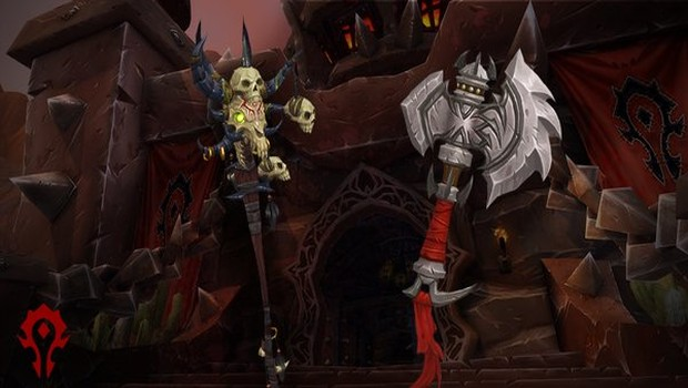 World of Warcraft horde cosmetic items themed after Warcraft Movie