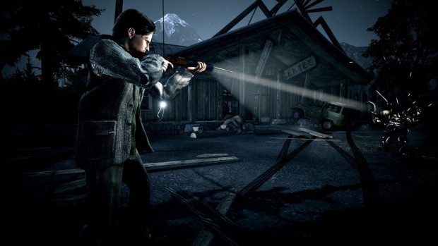 Screenshot from the PC version of Alan Wake