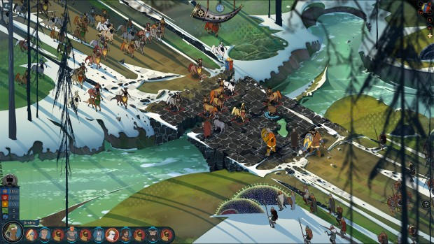 Banner Saga 2's combat and Survival Mode