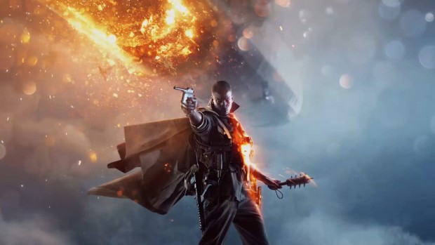 Battlefield 1's promo artwork