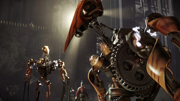 Dishonored 2 brings forth evil robots!