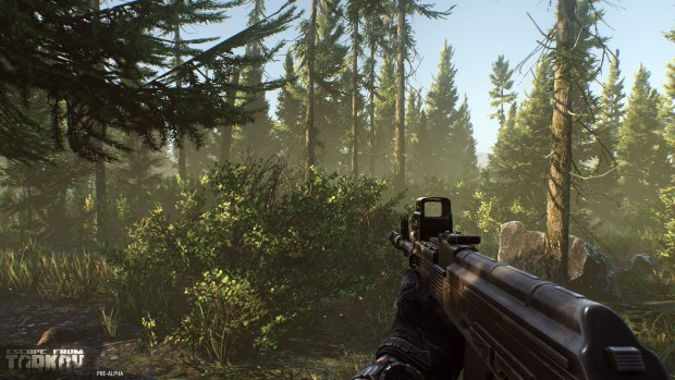 Escape from Tarkov is a rather lush game