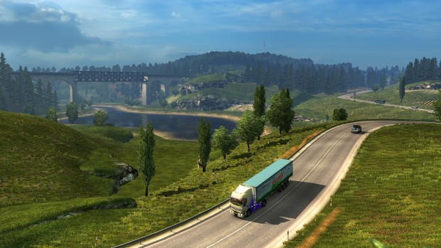 Euro Truck Simulator 2 PC screenshot