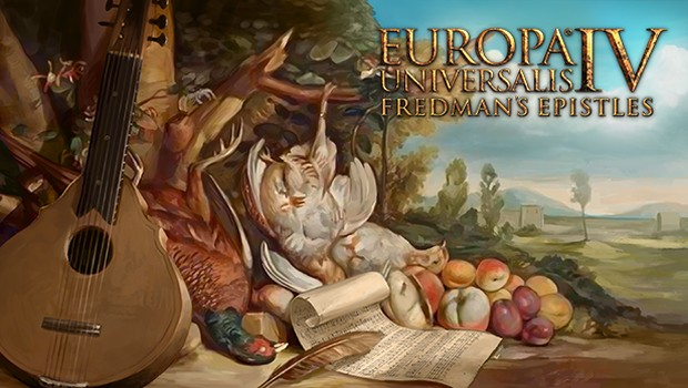Fredman's Epistles DLC artwork for Europa Universalis IV