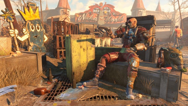 Fallout 4's Nuka-World raider screenshot
