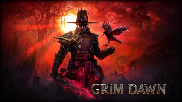 Grim Dawn official artwork and logo