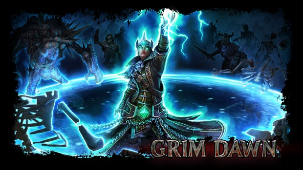 Grim Dawn's Arcanist artwork