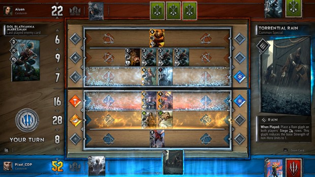 The Witcher 3's Gwent is getting an official release