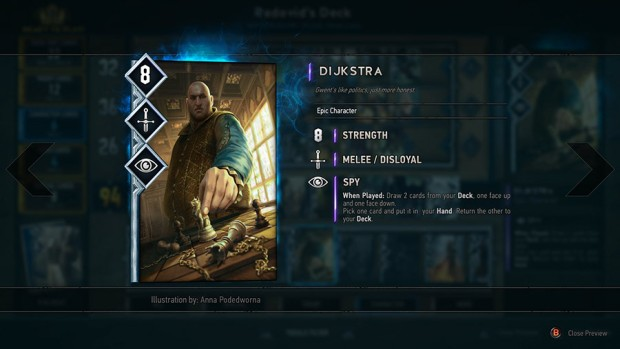 Gwent's spies are getting nerfed
