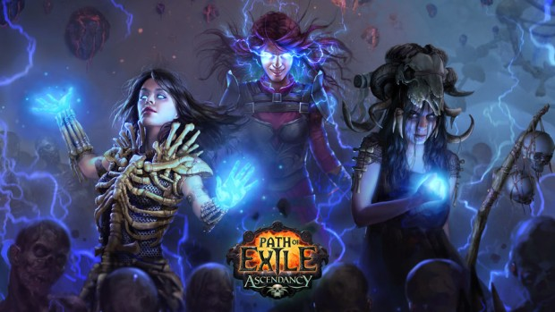 Path of Exile Witch Ascendancy artwork official