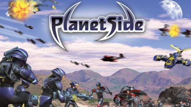 Official artwork for Planetside 1