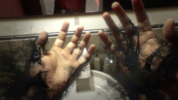 Shadowy hands from the Prey trailer