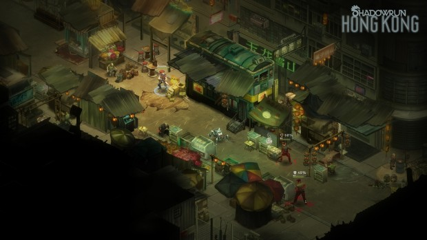 Shadowrun: Hong Kong in-game screenshot PC