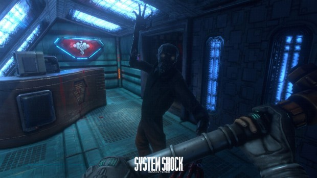 System Shock remaster screenshot of the zombie enemy