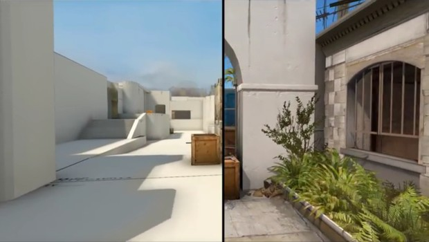 How CS:GO's Santorini map was created