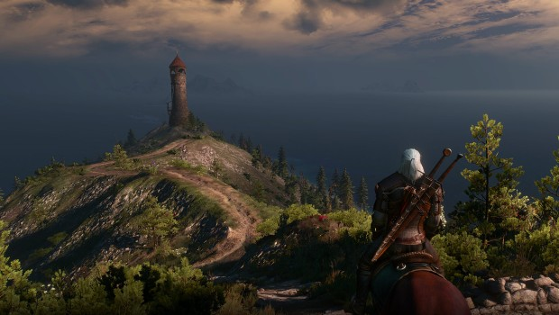 The Witcher 3's open world is a strange place