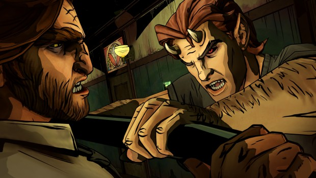 Telltale's The Wolf Among Us screenshot
