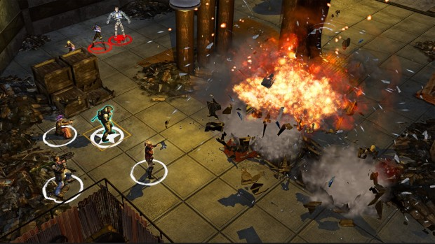 Screenshot from Wasteland 2's Director's Cut