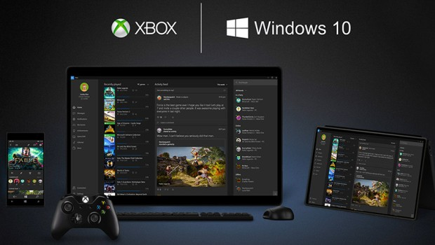 Xbox One and Windows 10 as an unified platform
