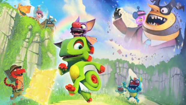 Yooka-Laylee official artwork
