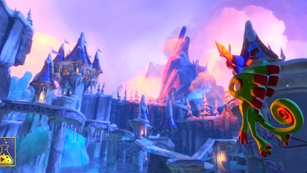 Yooka-Laylee early screenshot