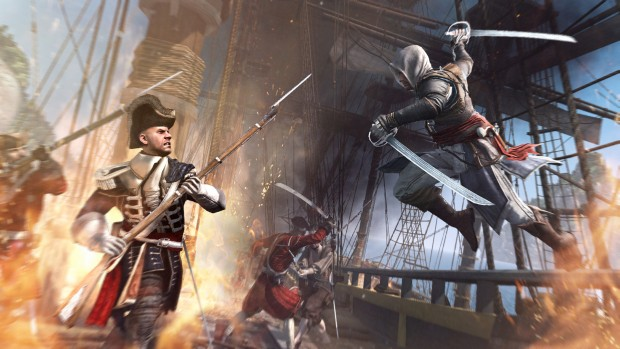 Assassin's Creed: Black Flag ship battle screenshot