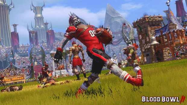 Blood Bowl 2's Undead team screenshot