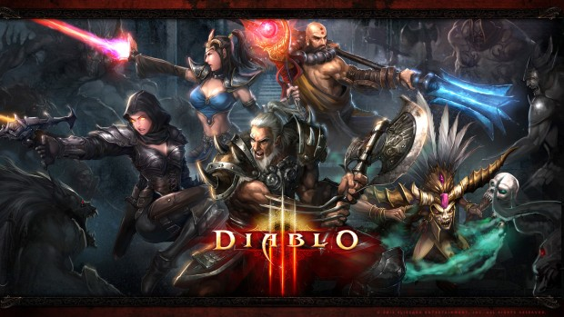 Blizzard's Diablo 3 artwork