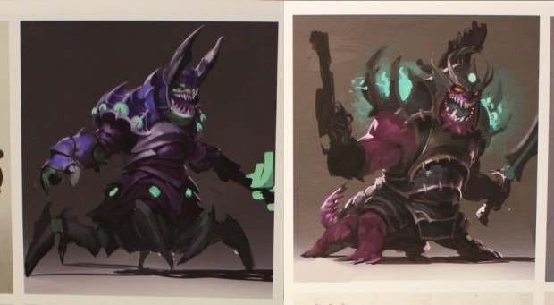 Concept art for Dota 2's Abyssal Underlord