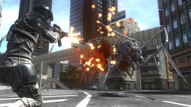 Earth Defense Force 4.1 giant ant