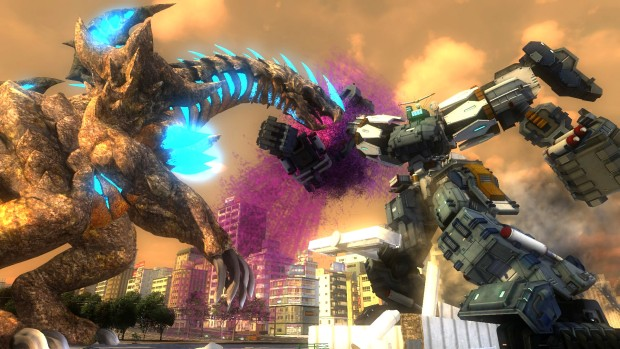Earth Defense Force 4.1 giant robot