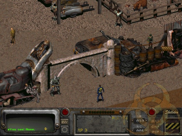 Fallout 2's Resurrection mod brings in a whole new zone