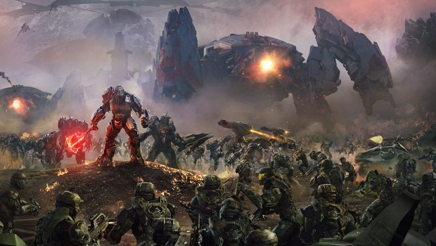 Halo Wars 2 artwork from the campaign