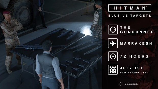Hitman's Elusive Target Contract - The Gunrunner
