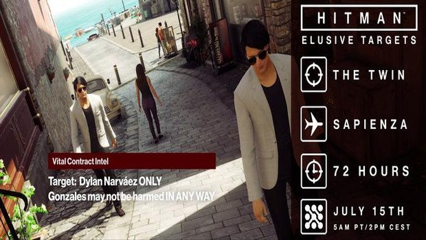 Hitman's sixth elusive contract - The Twin