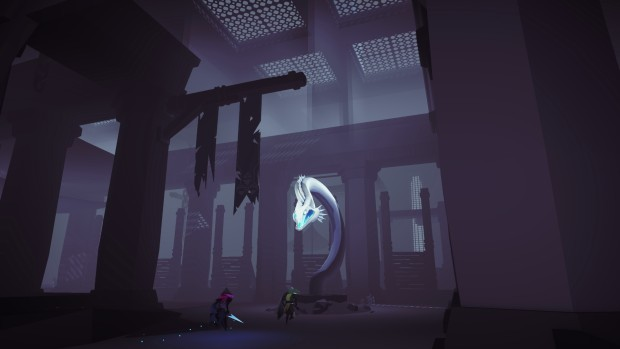 Necropolis screenshot featuring a deadly serpent