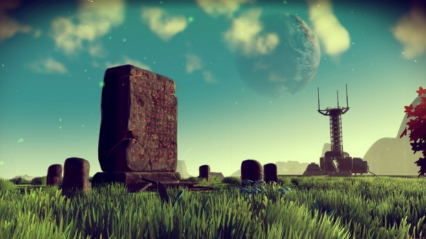 The Monolith from No Man's Sky