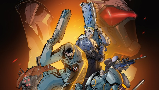 Overwatch First Strike graphic novel official cover art