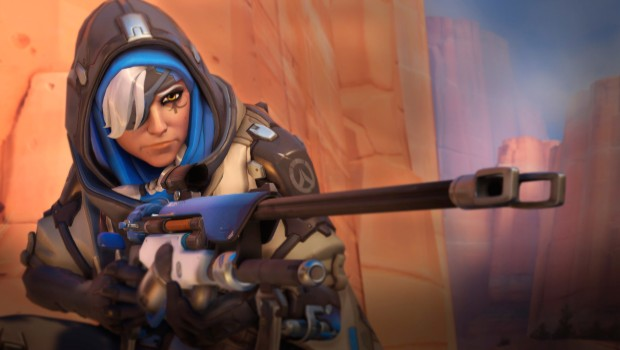 Screenshot of Overwatch's hero Ana