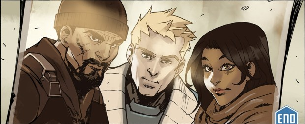 Overwatch's old crew - Reaper, Soldier 76 and Ana
