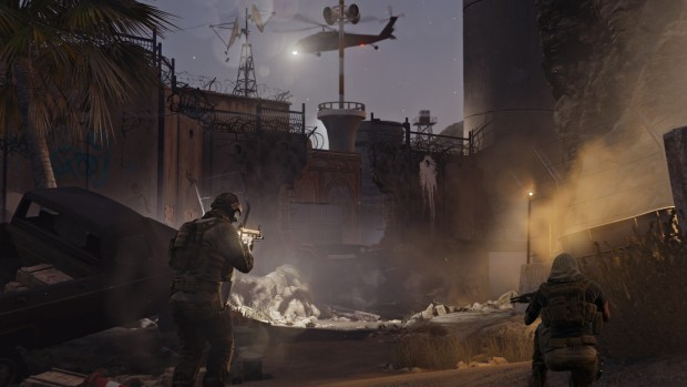 Rainbow Six Siege - raid screenshot