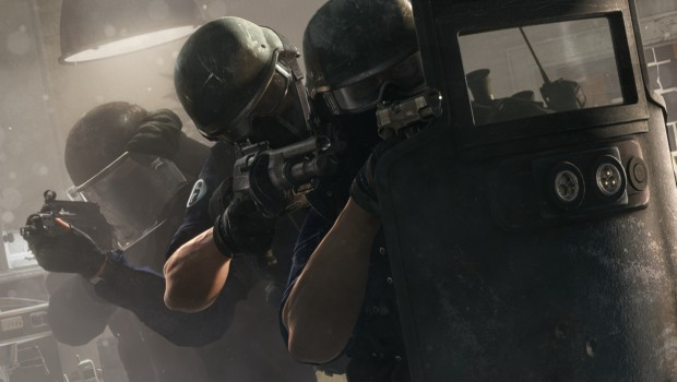 Rainbow Six Siege tactical shield screenshot