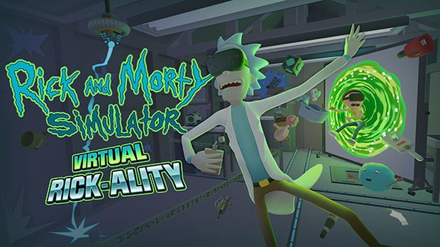 Rick and Morty: Virtual Rick-ality artwork