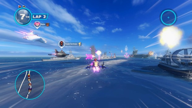 Sonic & All Stars Racing Transformed Battlefleet screenshot