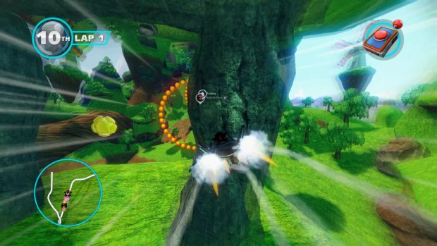 Sonic & All-Stars Racing Transformed features some difficult flying mechanics