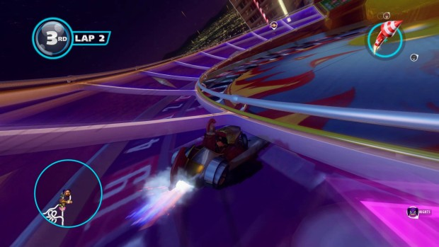 Sonic & All-Stars Racing Transformed drifting mechanics